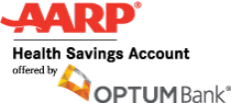 AARP HSA offered by Optum Bank Logo